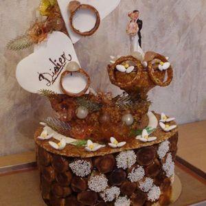 Exemple de pièce montée - Boulangeries Arnould